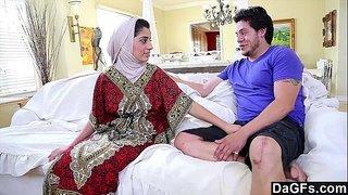 فيلم سكس عربي نار مع الموزة المحجبة نادية علي أم جسم ملبن تتناك من ...